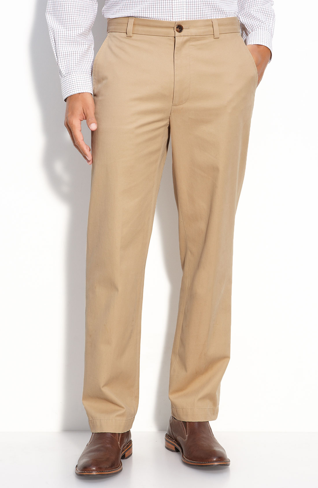 brothers clark vintage chino in khaki for