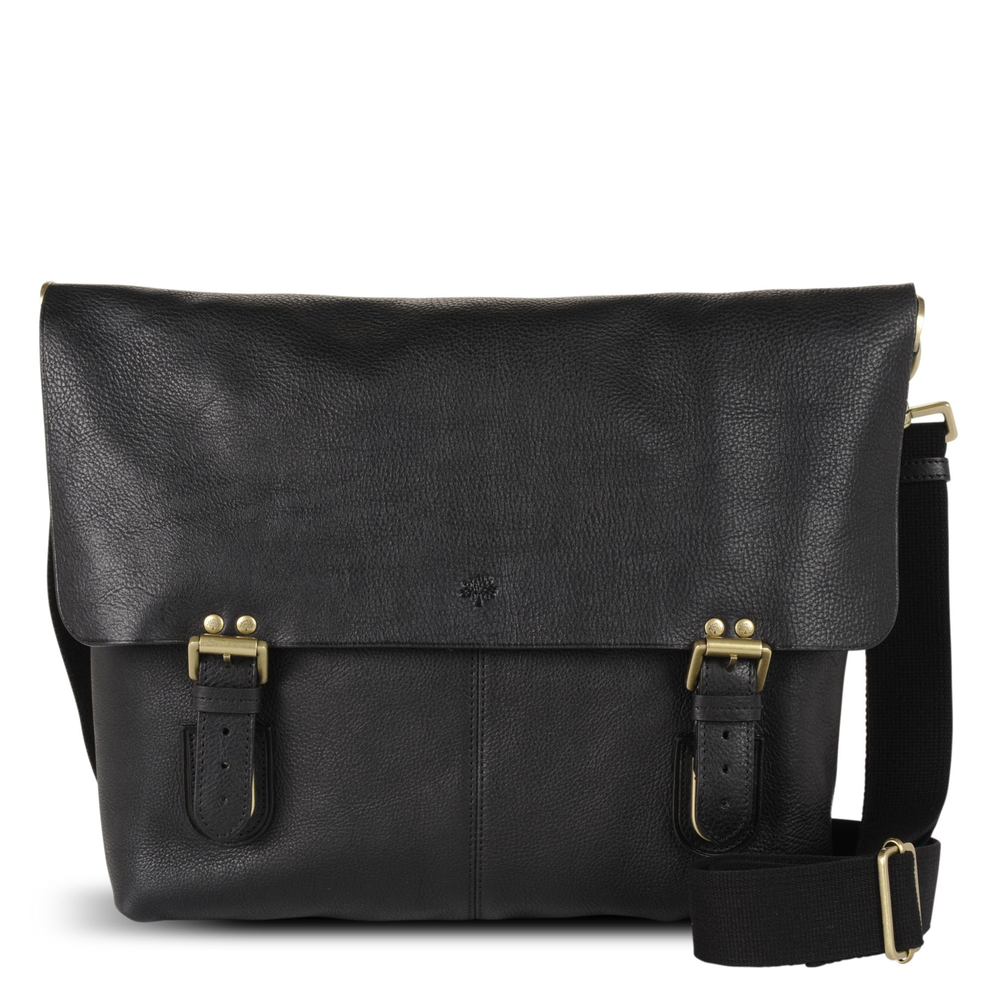 d9782a0042af ... low price mulberry barnaby leather messenger bag in black for men lyst  6276d 1f986