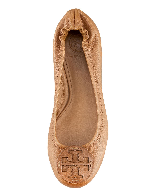 Tory Burch Womens Reva Logo Ballerina