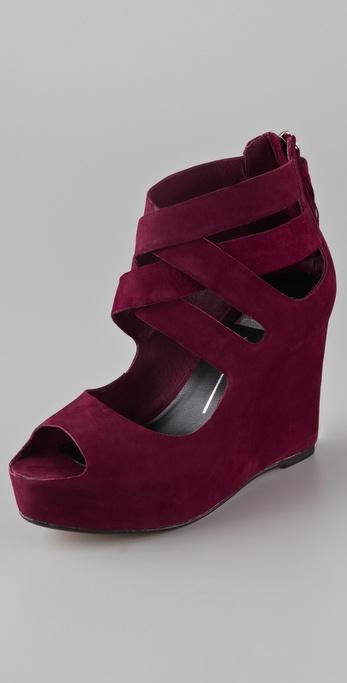 Lyst Dolce Vita Jade Wedge Sandal In Red