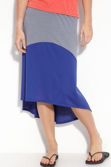Lily White Hi Low Colorblock Skirt (juniors) - Lyst