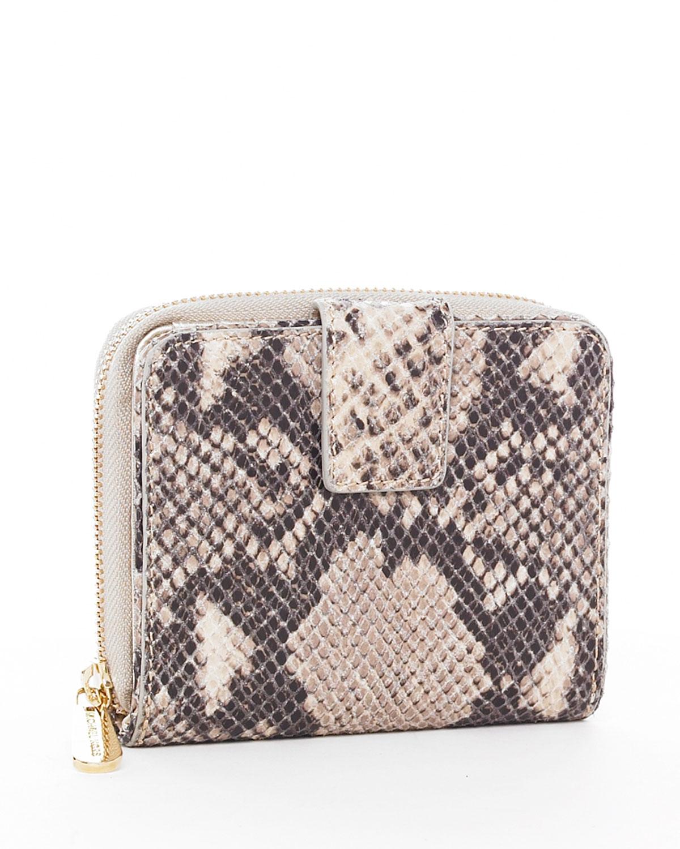 MK snakeskin wallet