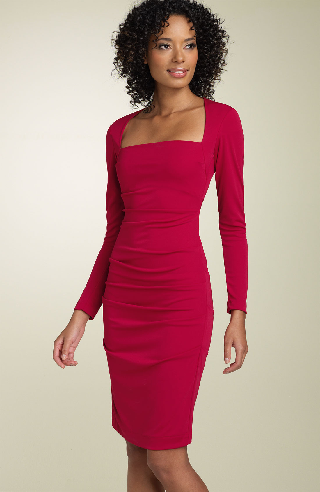 Long Sheath Dress