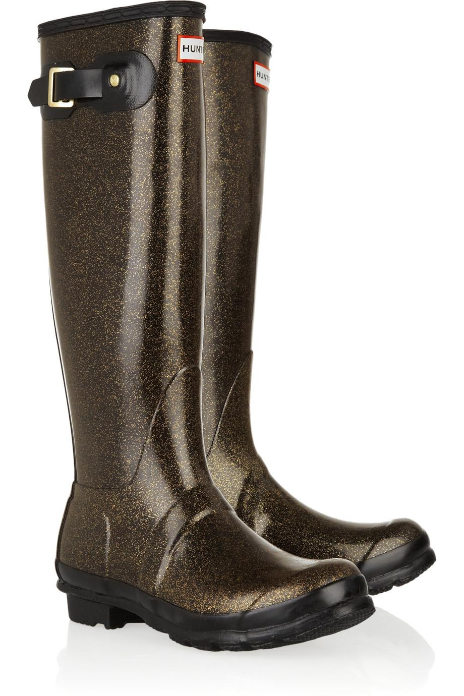 Original Tall Glitter Wellington Boots