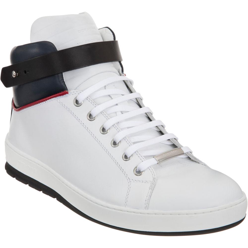 lyst dior homme high top sneaker in white for men. Black Bedroom Furniture Sets. Home Design Ideas