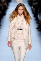 Givenchy Spring 2012 White Sharply Tailored Jacket