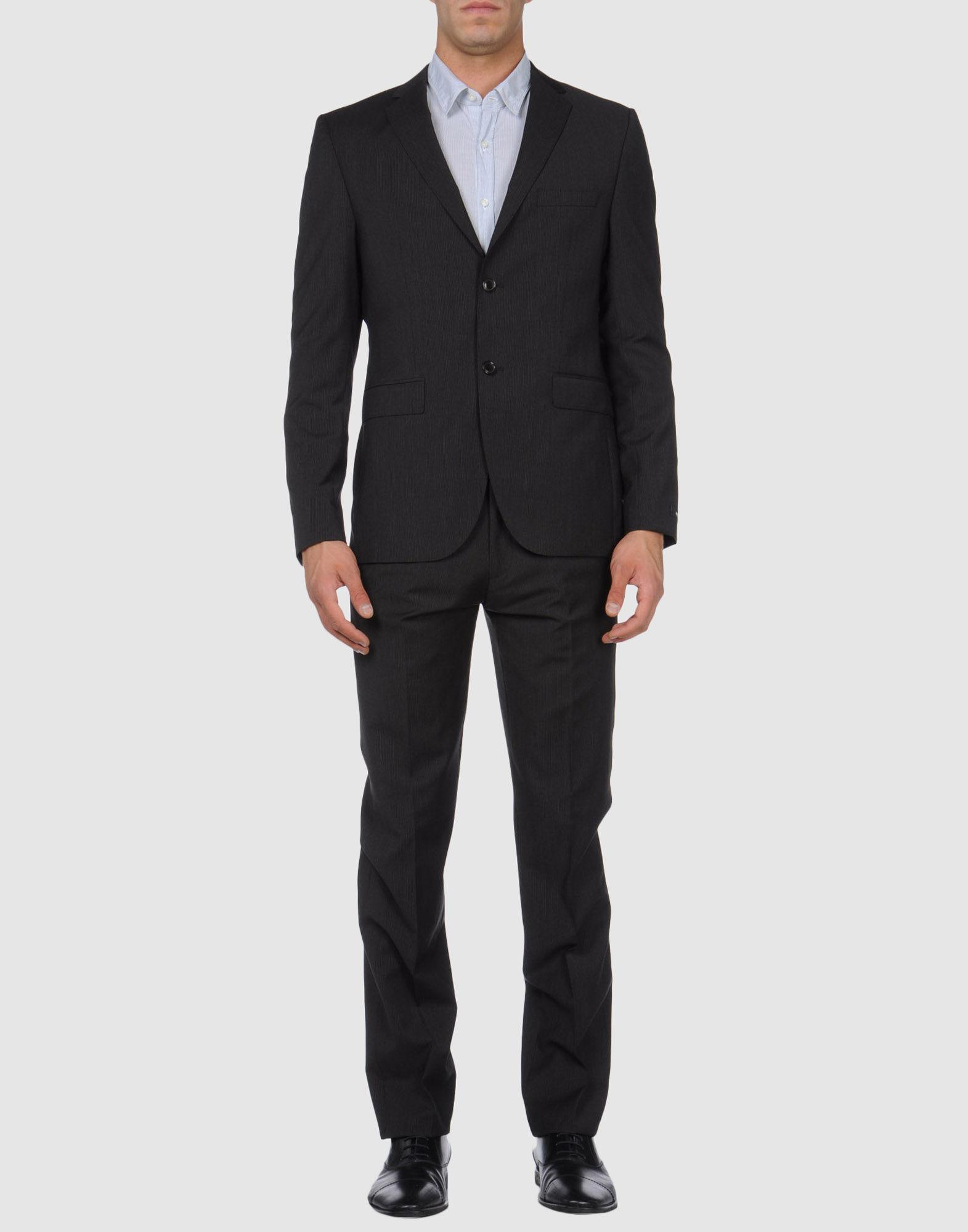 boss by hugo boss boss hugo boss suits in gray for men. Black Bedroom Furniture Sets. Home Design Ideas