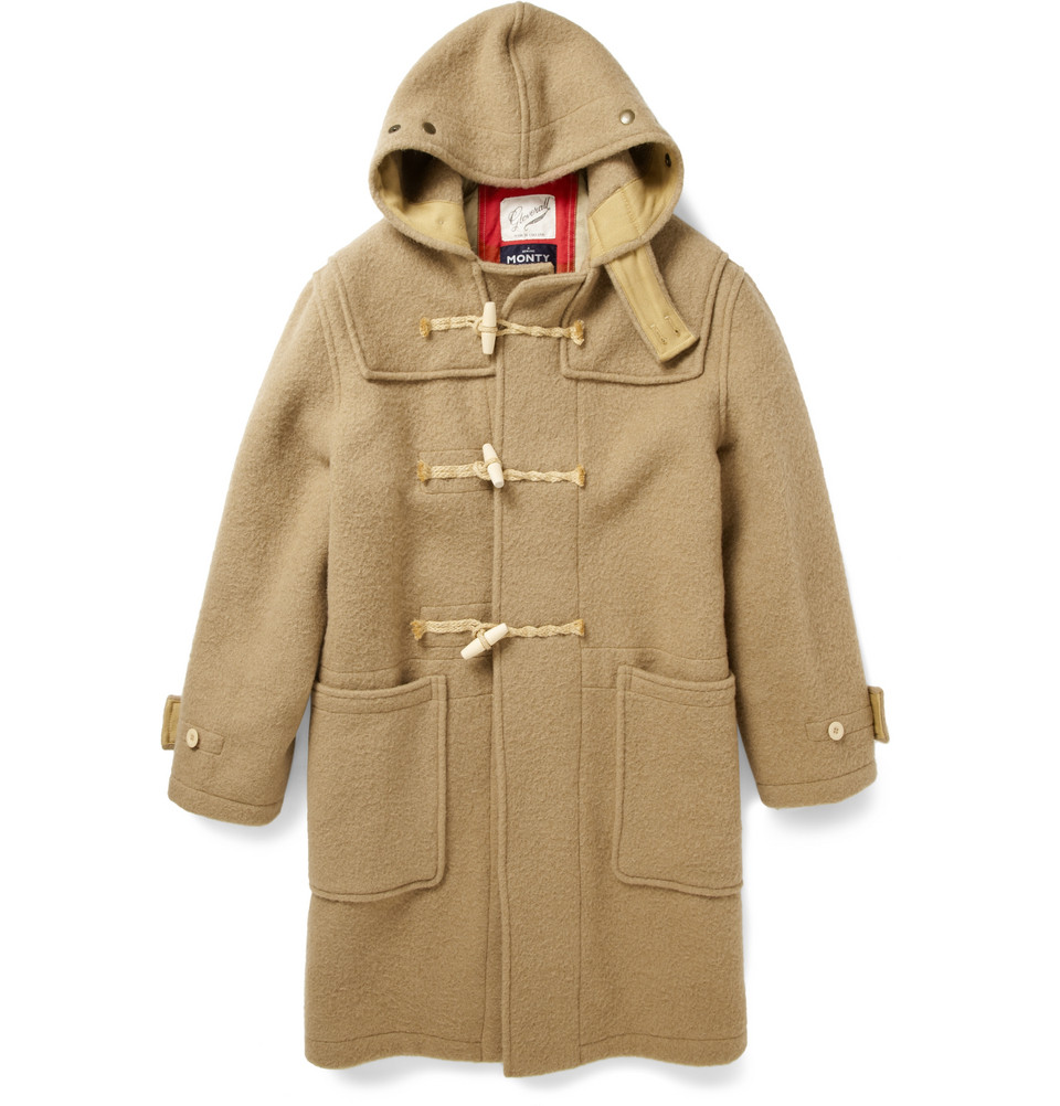 Gloverall Monty Heavyweight Duffle Coat in Brown for Men ...