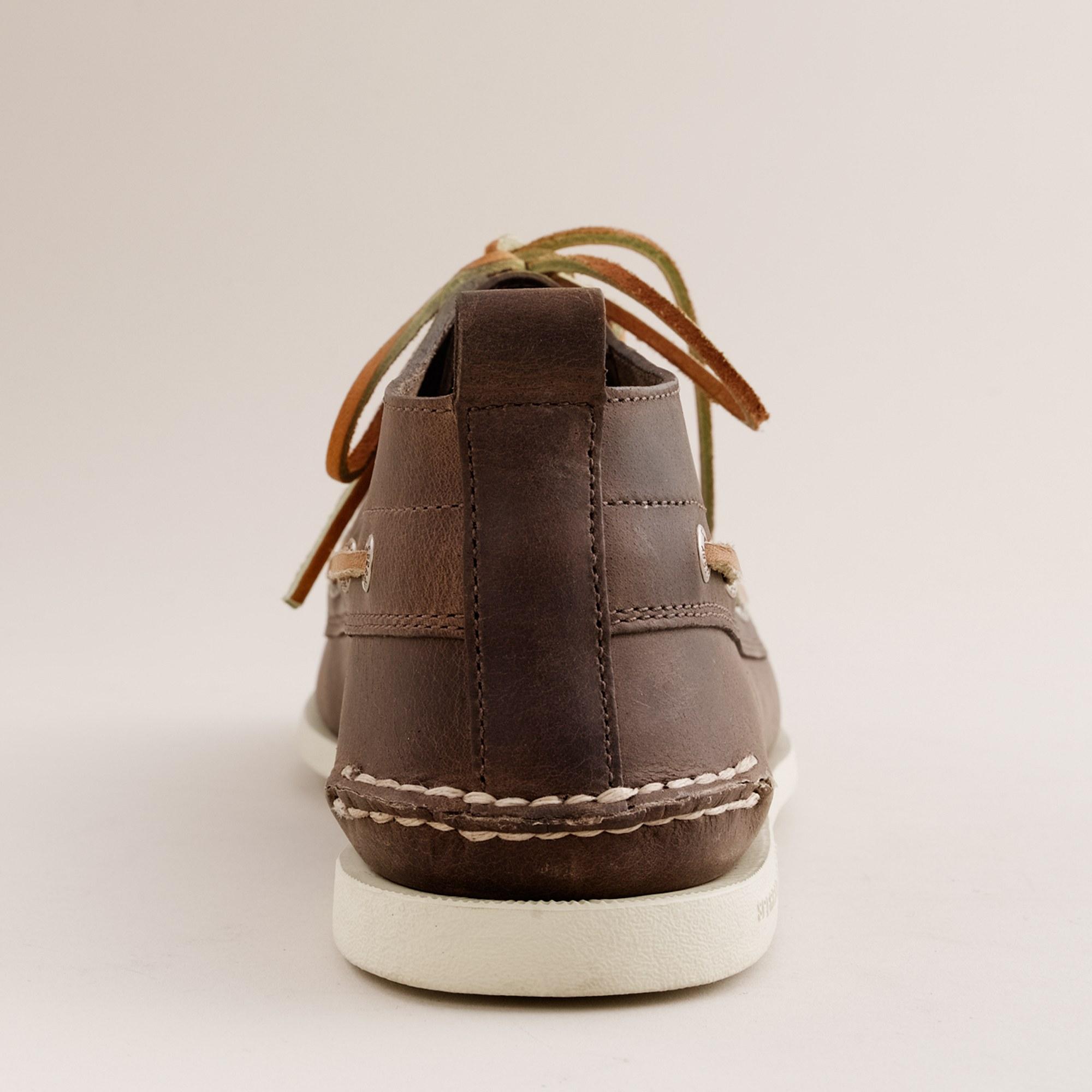 338840ec07 Lyst J Crew Sperry Top Sider Authentic Original Leather Chukka