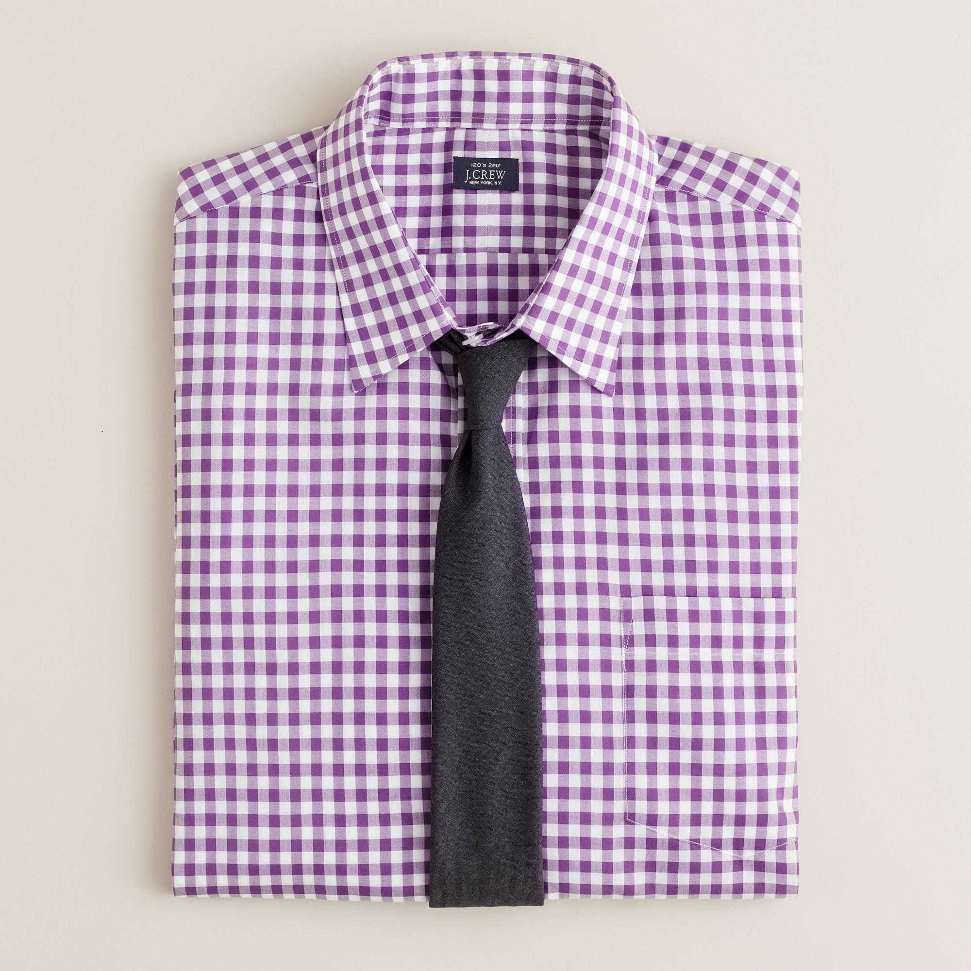 Point Collar Regular Fit Dress Shirt In Medium