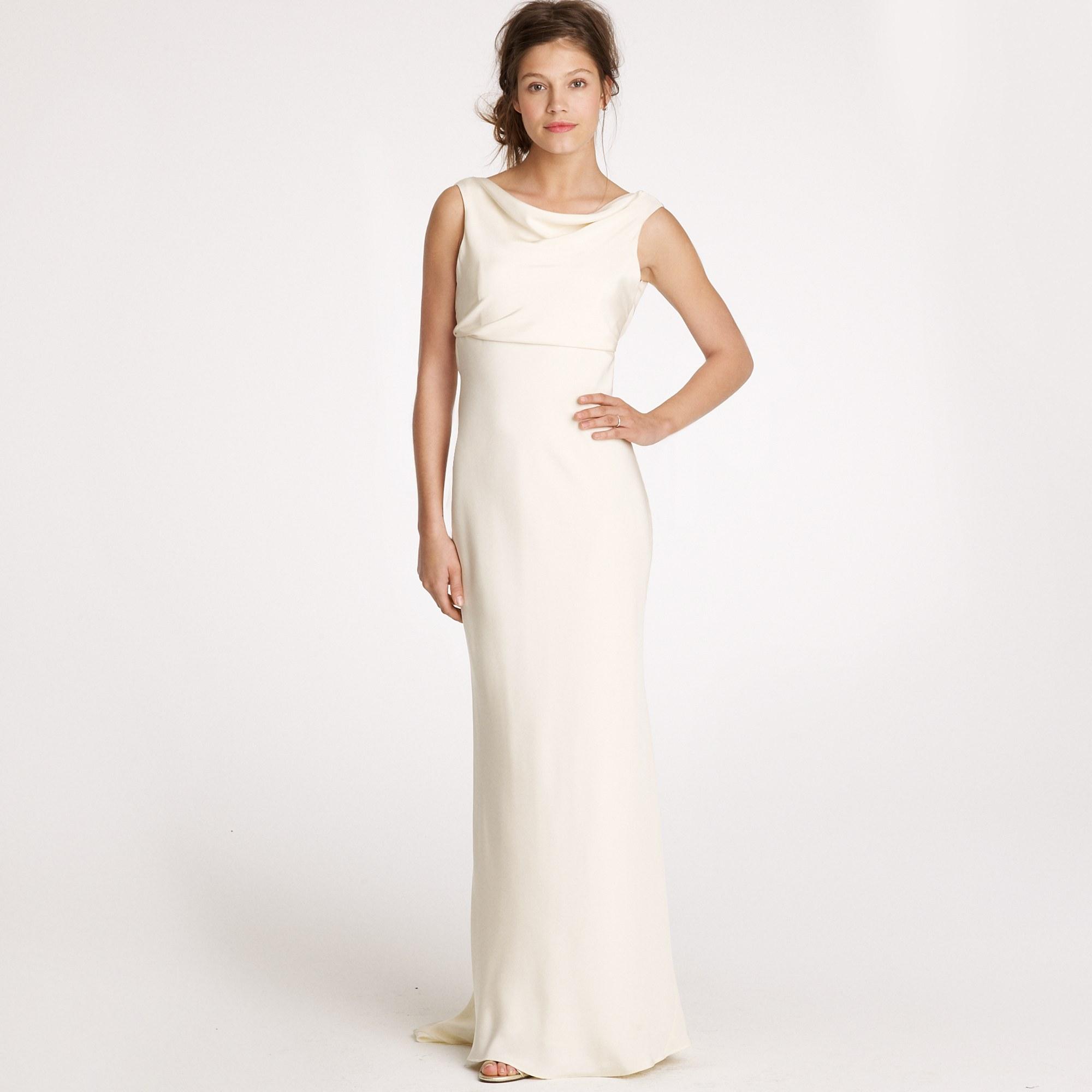 Lyst - J.Crew Anouk Gown in White