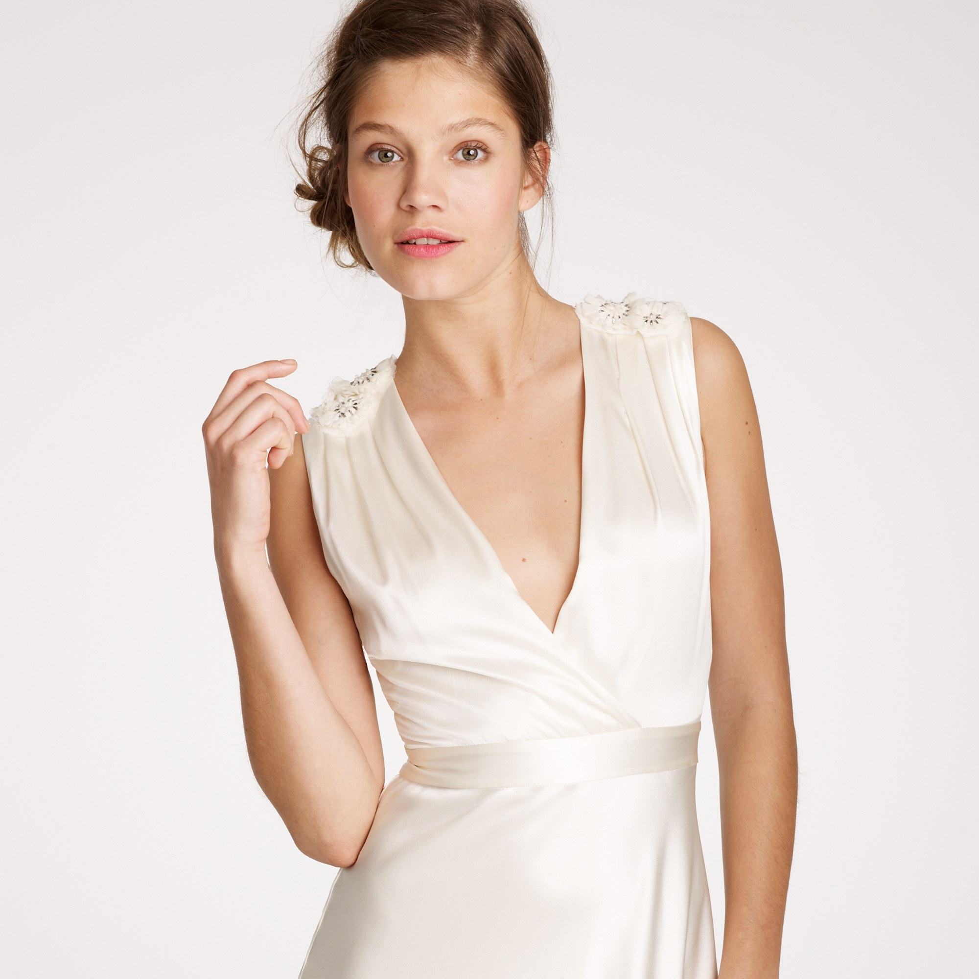 Lyst - J.Crew Rosabelle Gown in White