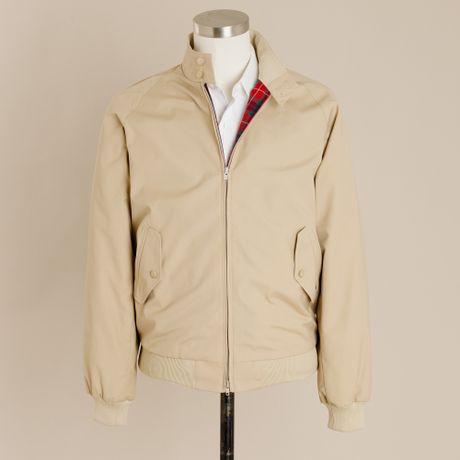 J.crew Baracuta® G9 Harrington Jacket in Khaki for Men