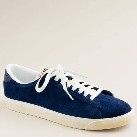 j crew nike 174 for j crew vintage collection suede tennis