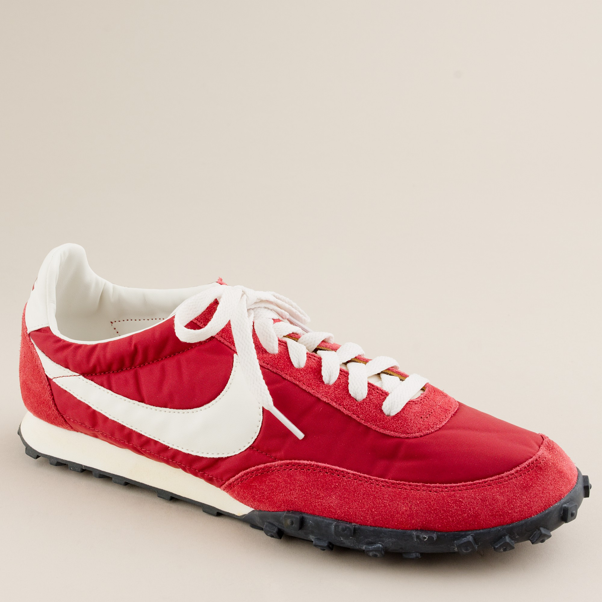 23afae7f2 Lyst - J.Crew Nike® Vintage Collection Waffle® Racer Sneakers in Red ...