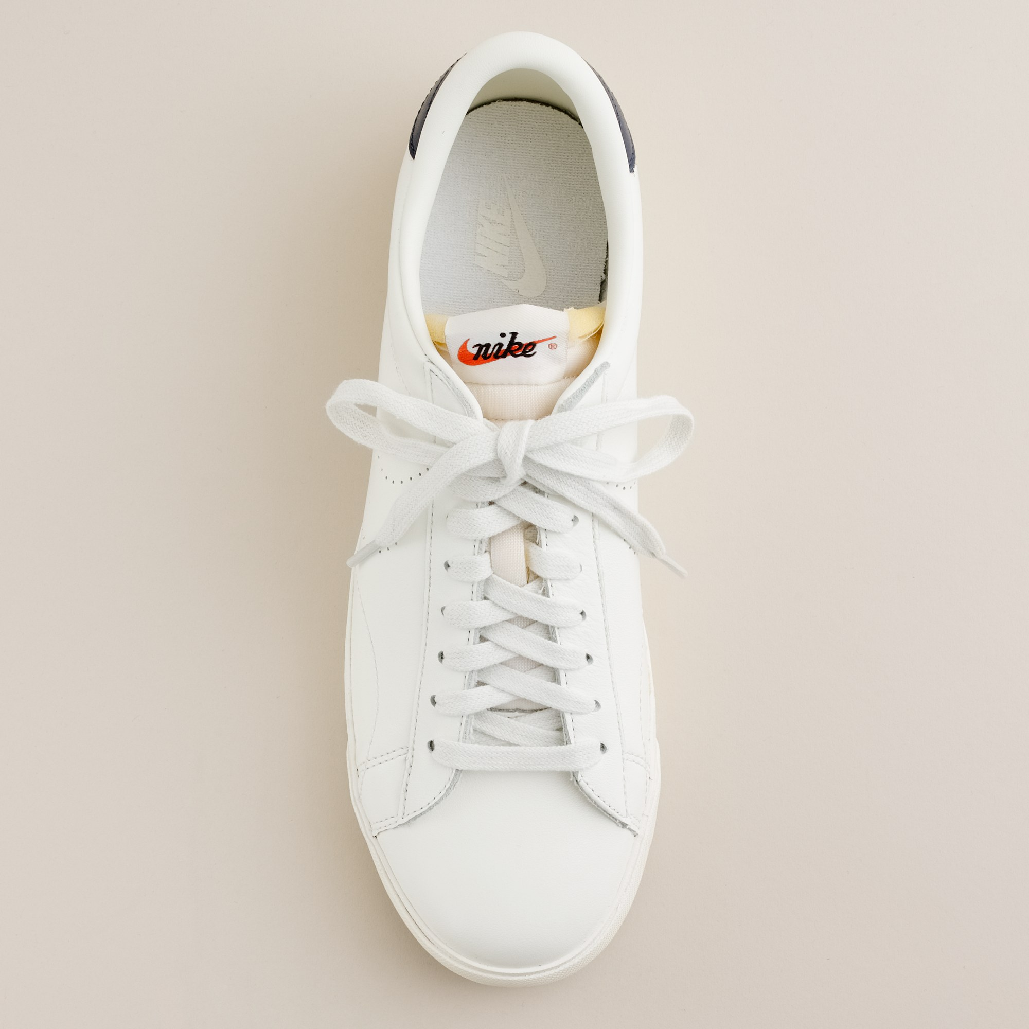 6448a3e217c2 ... coupon code for lyst j.crew nike for j.crew vintage collection leather  tennis