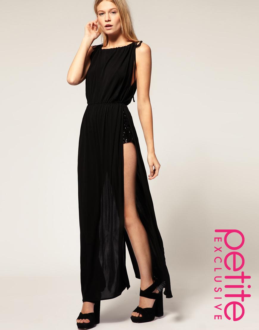 asos collection asos exclusive maxi dress with