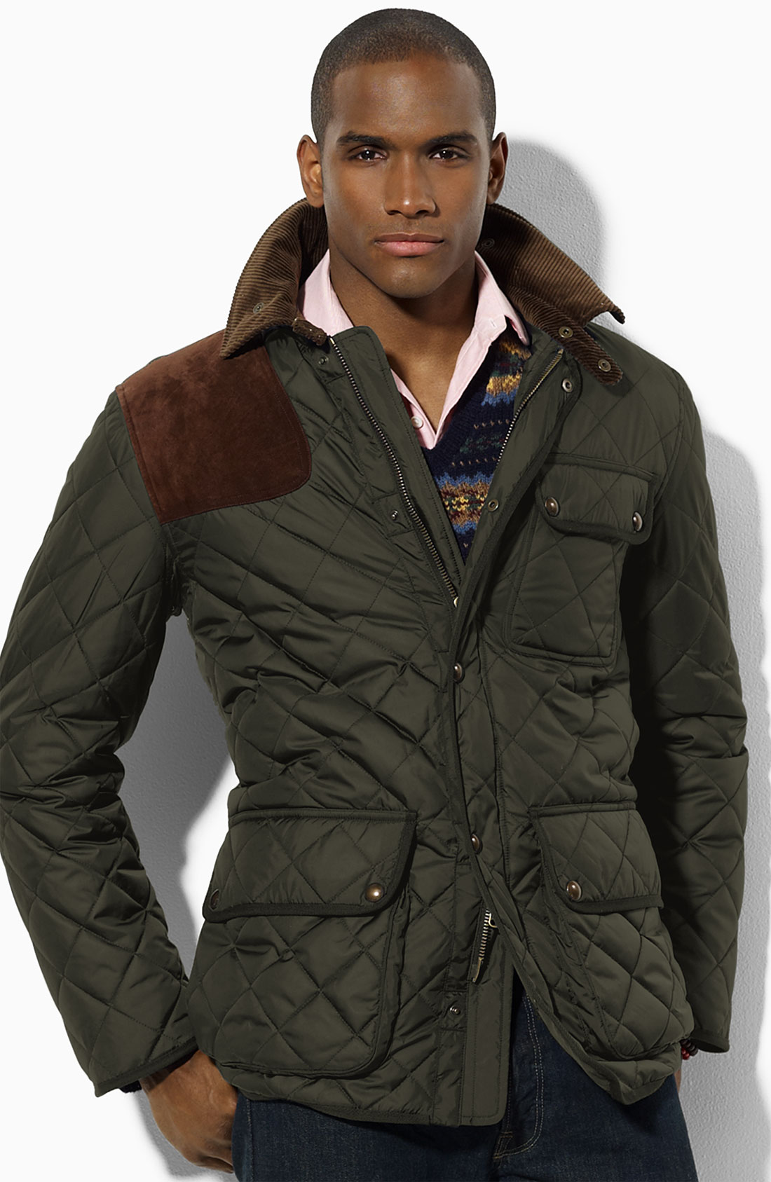 Polo ralph lauren Kempton Quilted Jacket in Green for Men | Lyst