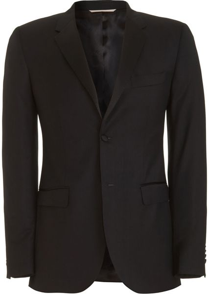 Shipley & Halmos Tuxedo Blazer in Black for Men