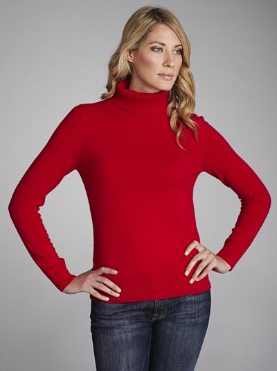 7fbbc6561 John Lewis Women Cashmere Roll Neck Jumper Xmas Red