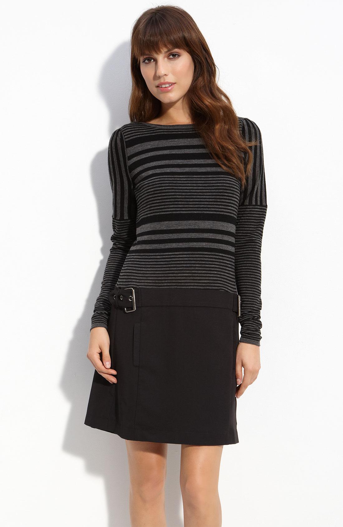 Laundry By Shelli Segal Mock Two Piece Sweater Dress in ...
