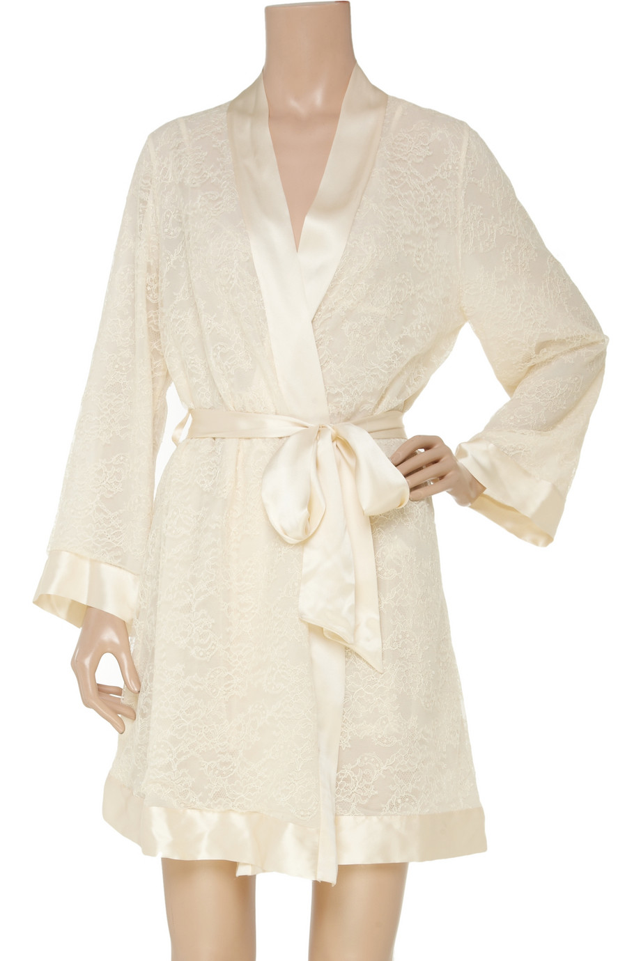 Magnificent Silk Lace Dressing Gown Vignette - Ball Gown Wedding ...