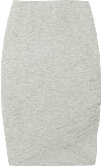 Donna Karan New York Stretch Cashmere-blend Skirt - Lyst