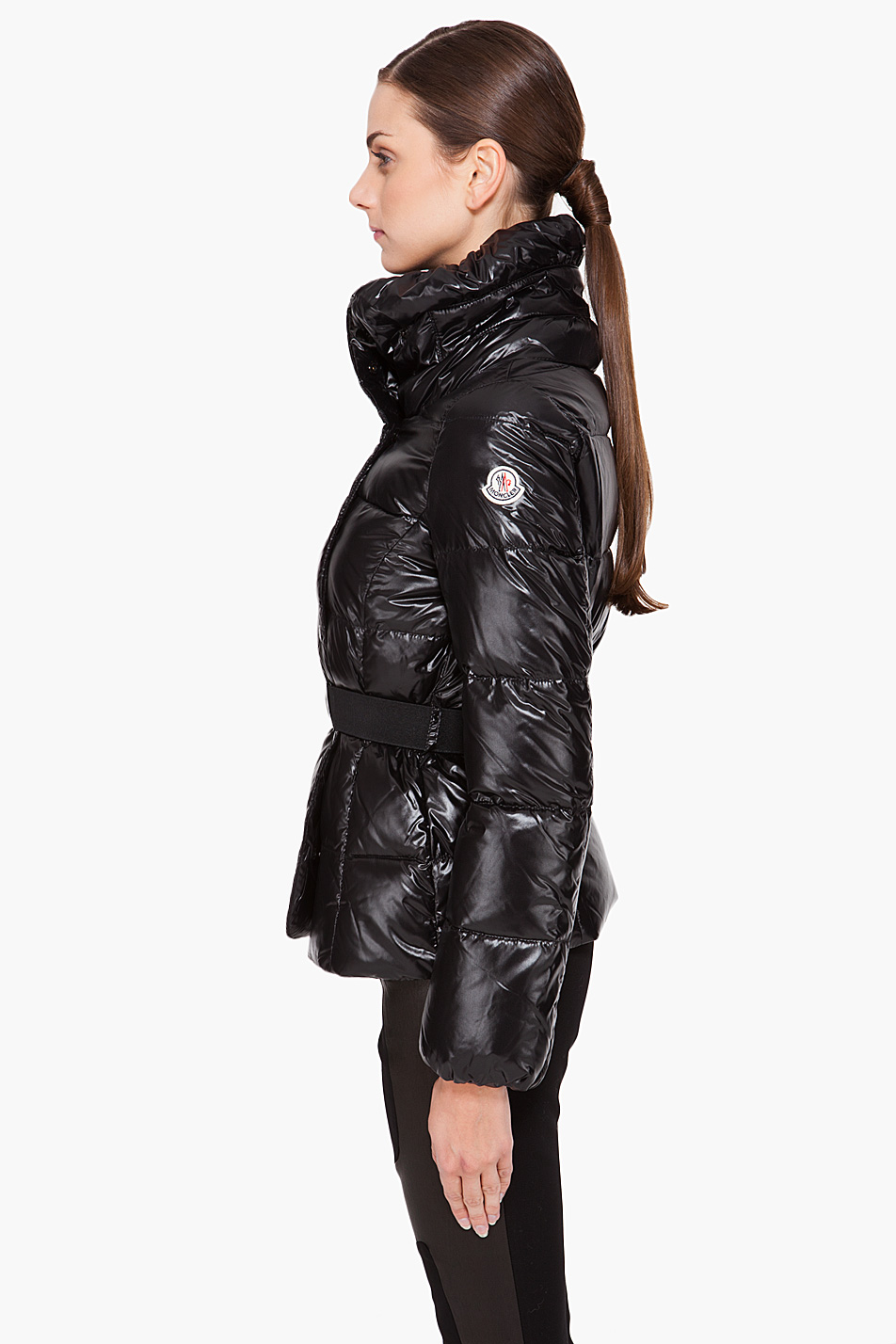 Moncler Clairy Puffer Jacket in Black