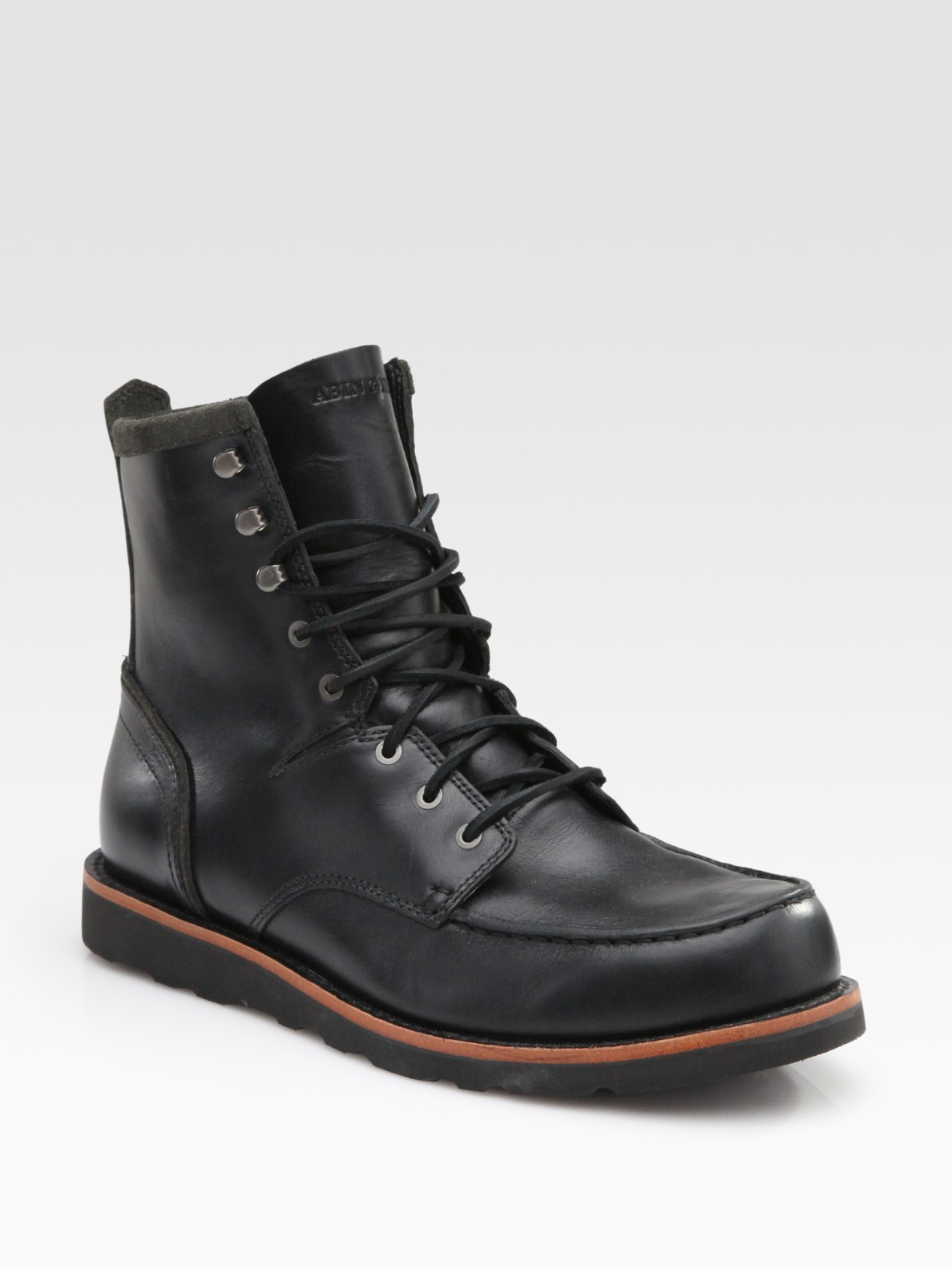 Timberland Abington Farmers Boots In Black For Men Lyst