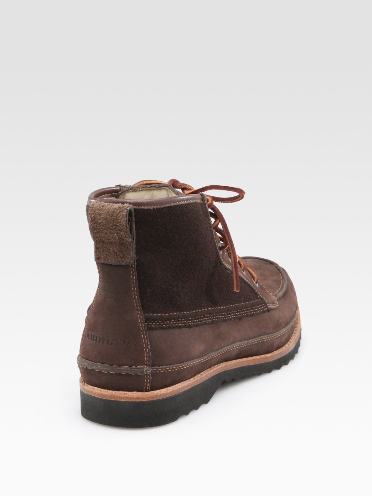 Timberland Abington Moccasin Boots In Brown For Men Lyst