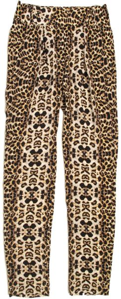 A.l.c. Elson Pant in Animal (leopard) - Lyst