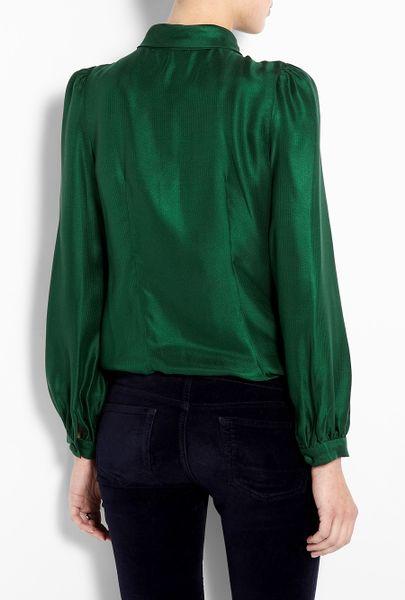Womens Emerald Green Blouse 98