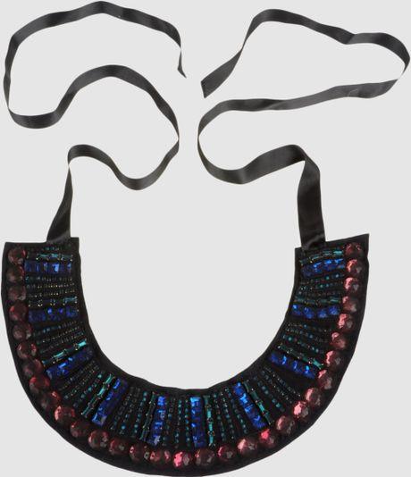 Marni Necklaces in Black