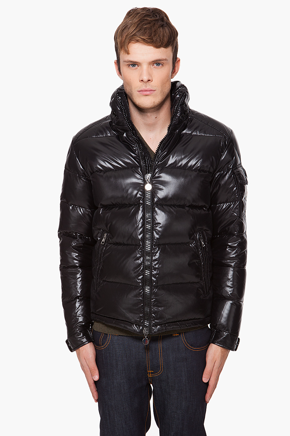 Moncler Hooded Maya Jacket In Black For Men Lyst