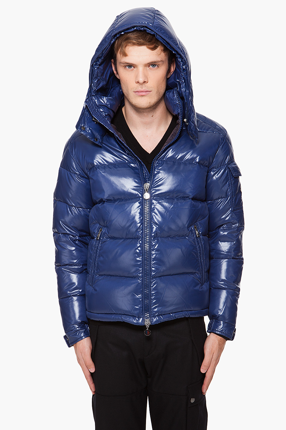 Hooded Jean Jacket For Men