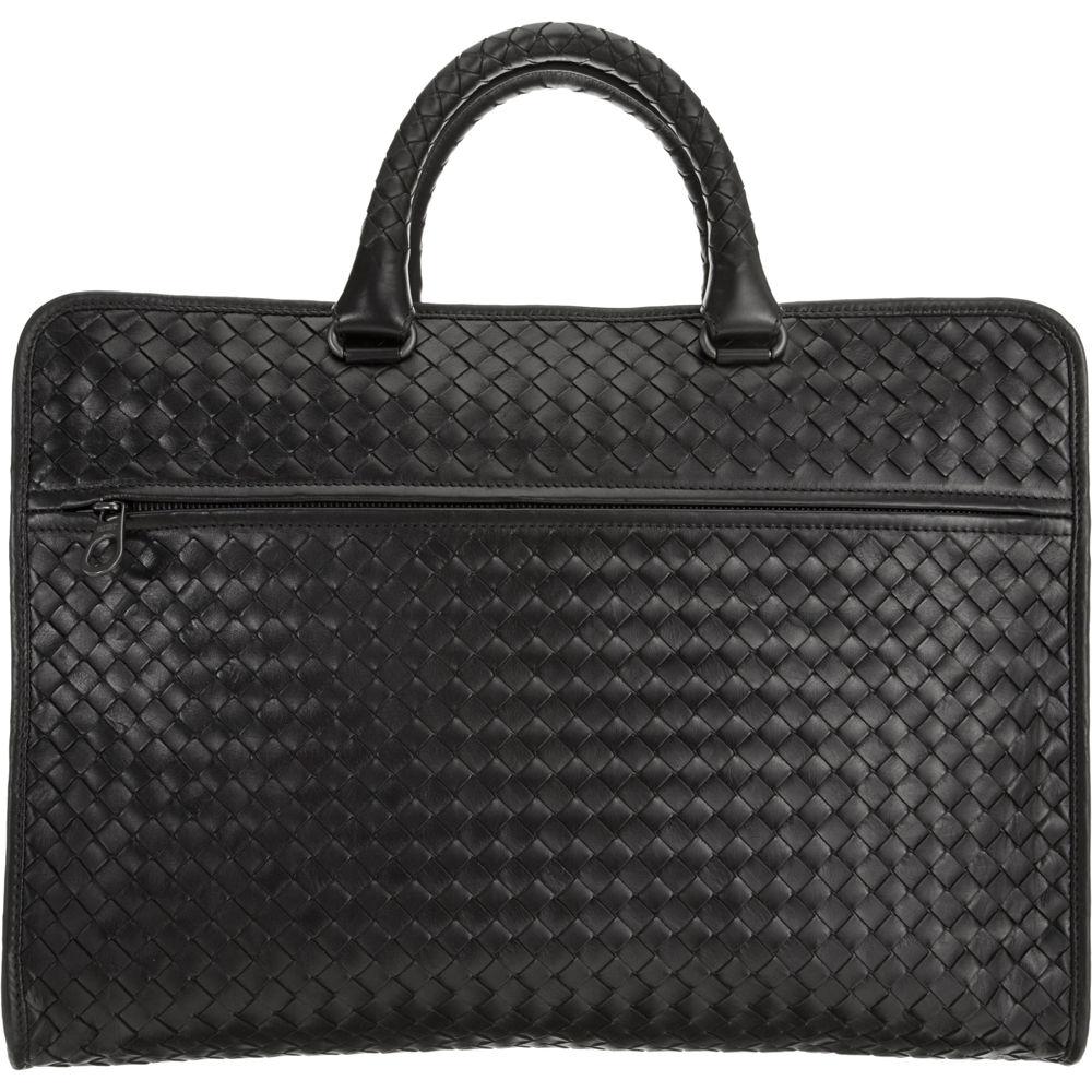 Bottega Veneta Intrecciato Computer Bag in Black for Men - Lyst f3b63067a62bd
