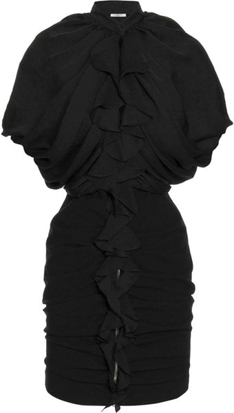 Givenchy Ruffle Dress - Lyst