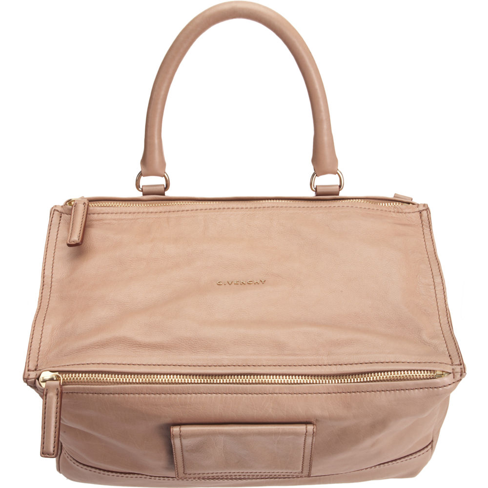 e1b1f67e133c Lyst - Givenchy Large Pandora Messenger in Natural