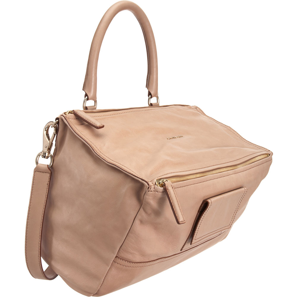549802575b11d Lyst - Givenchy Large Pandora Messenger in Natural