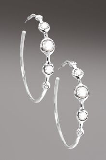 Ippolita Diamond & Clear Quartz Station Earrings - Lyst
