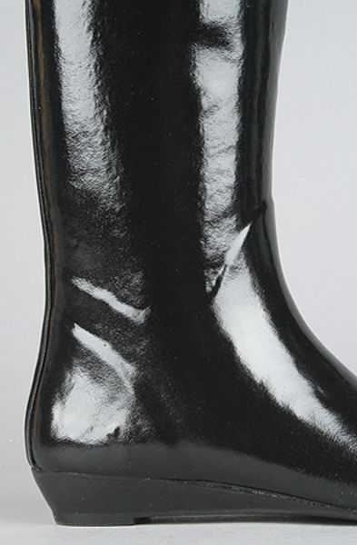 Jeffrey Campbell The Voom Rain Boot In Black In Black Lyst