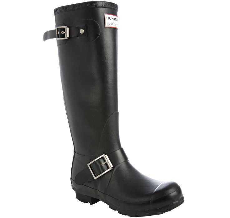 38f9d6294d5e jimmy choo hunter black biker wellington boots for sale