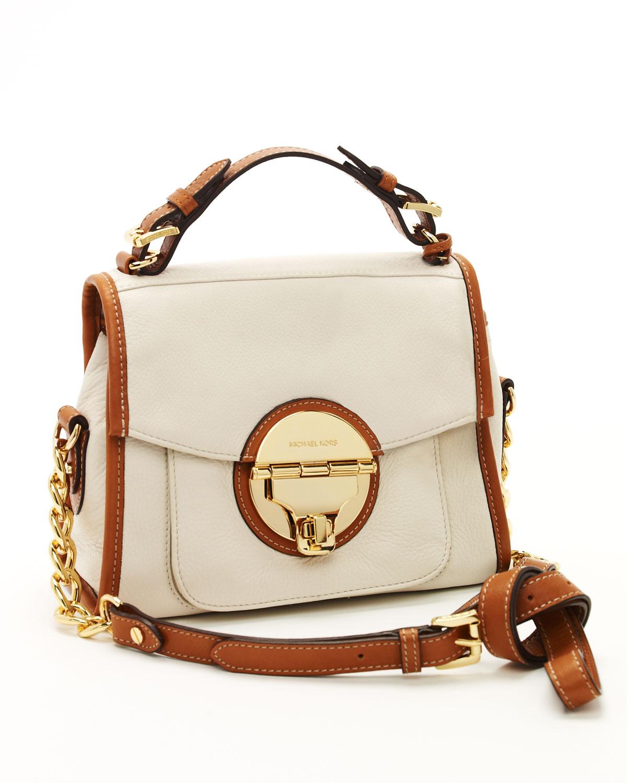 Promo Code For Michael Kors Naomi Satchels - Bags Michael Kors Vanilla Margo Medium Satchel Vanilla