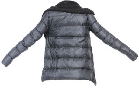 Patrizia Pepe Ultra Light Down Jacket In Black Lyst