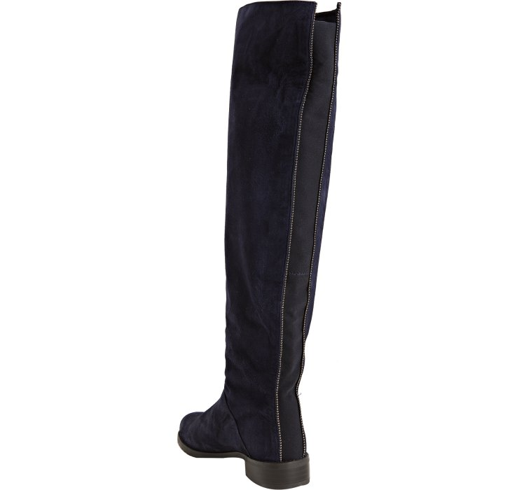 Stuart weitzman Nupentagon Tall Boots in Blue   Lyst
