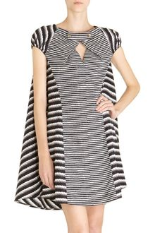 Yves Saint Laurent Rope Print Dress - Lyst