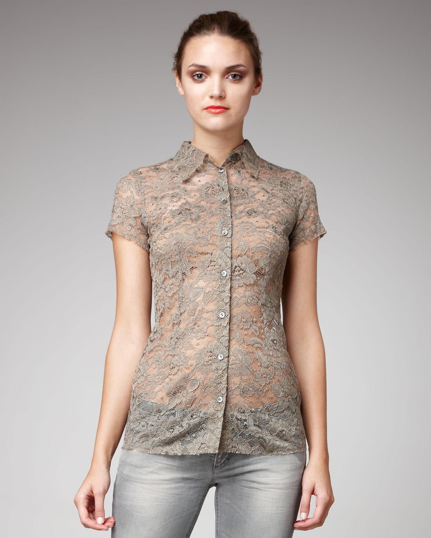 Royal Blue Womens Shirt