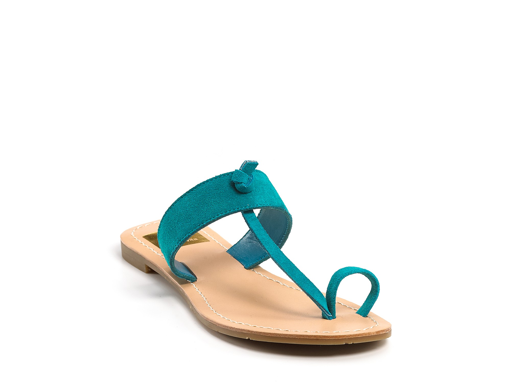 Dolce Vita Jaiden Sandal in Nude Suede (Natural) - Lyst