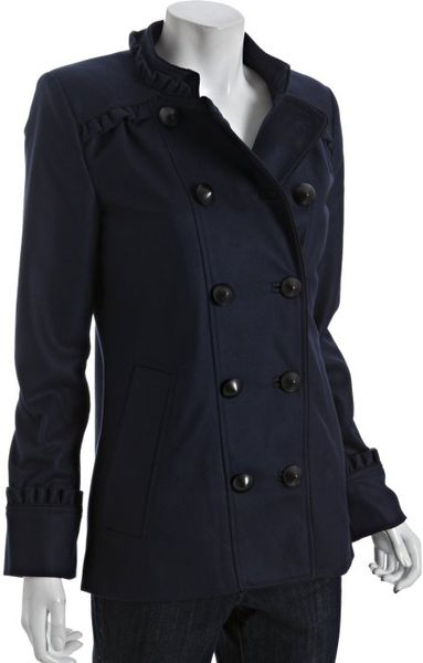 French Connection Nocturnal Wool Cashmere Bobby Dazzler