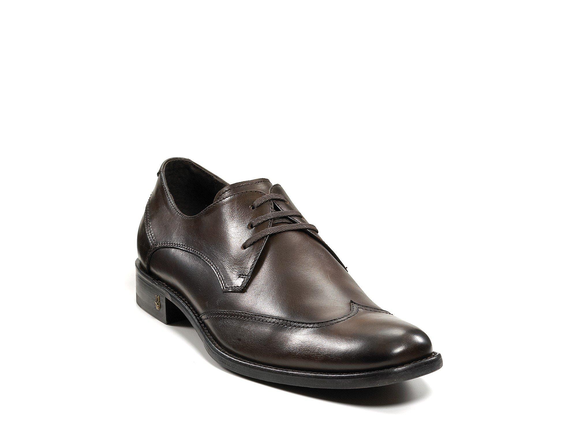 varvatos usa wingtip dress shoe in brown for